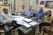 Em reunião com diretor da CONDER, Silvan busca firmar novos convênios para o município
