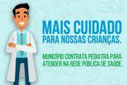 Secretaria de Saúde efetiva contrato com médico pediatra